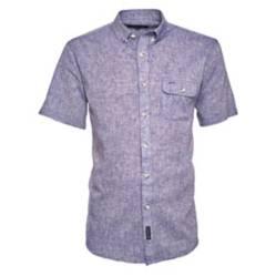 Camisa Manga Corta Lino Lisa