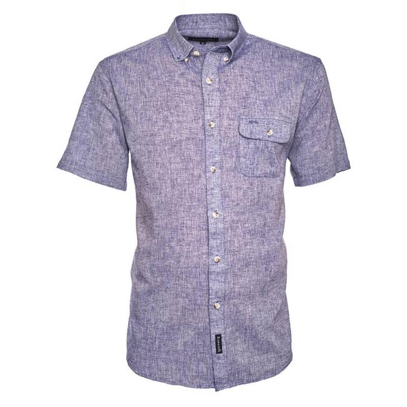 McGregor - Camisa Manga Corta Lino Lisa