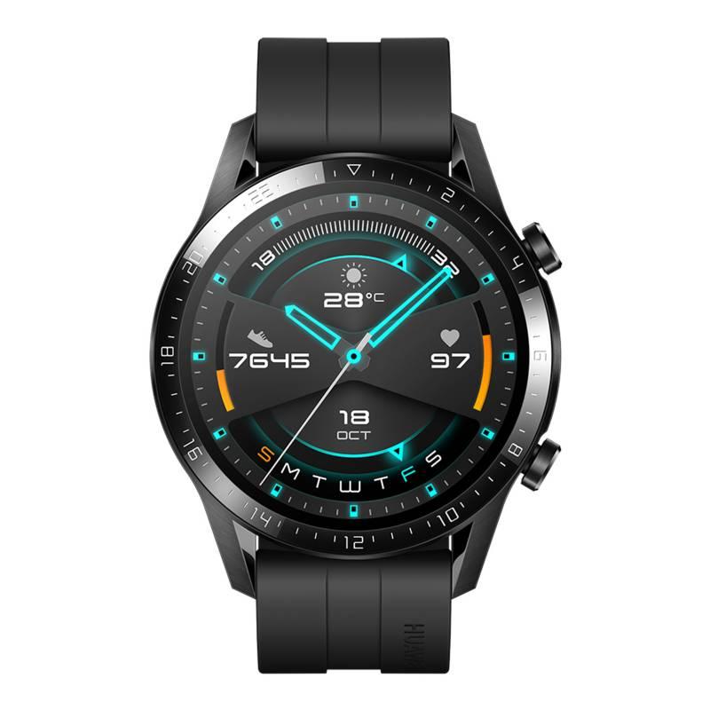Huawei - Watch Gt 2 Sport 46mm Matte Black