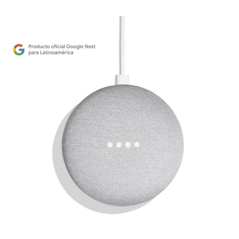 Google - Google Home Mini Gris