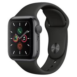 Apple - Apple Watch S5 40mm Black