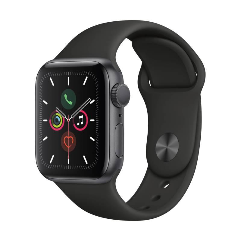 APPLE - Apple Watch S5 40mm Black