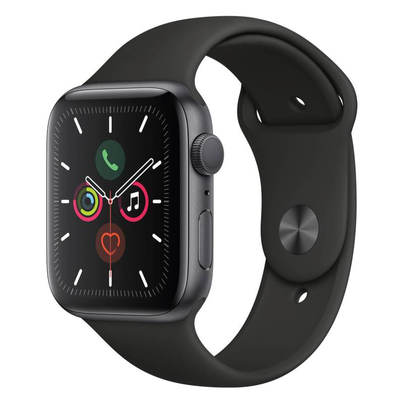 Apple - Apple Watch S5 44mm Black