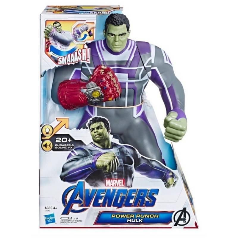 HASBRO - Figura Hulk Power Punch Avengers End Game