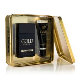 Set Gold Deluxe Millionaire 95 ml + Gel After Shave 75 ml