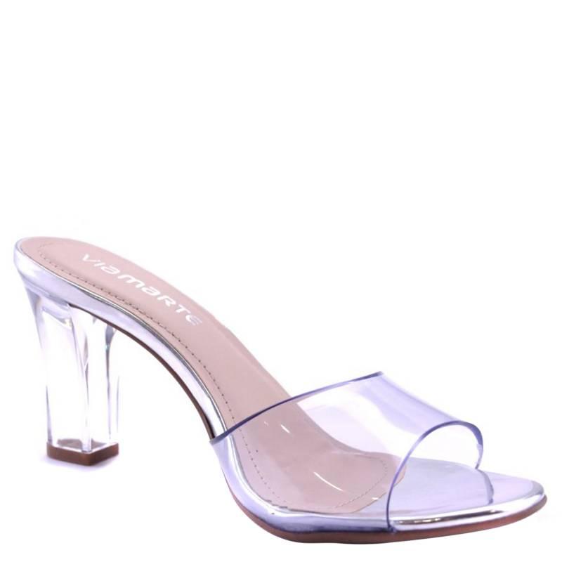 VIA MARTE - Sandalia Mujer Moda Prata