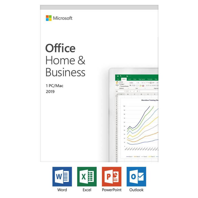 Microsoft - Licencia Office 2019 Home & Bussines