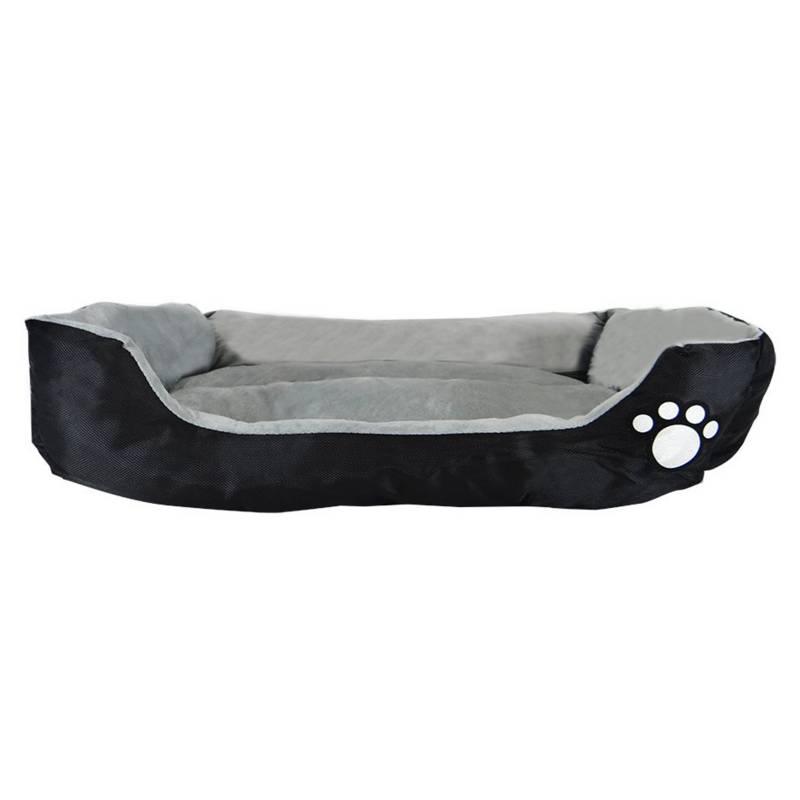 MUNDO ONLINE - Cama Mascota Patita Chiporro 70 cm Negra