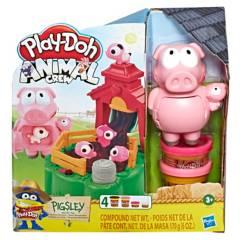 Play Doh - Play-Doh Animal Crew Pigsley Cerditos En El Lodo