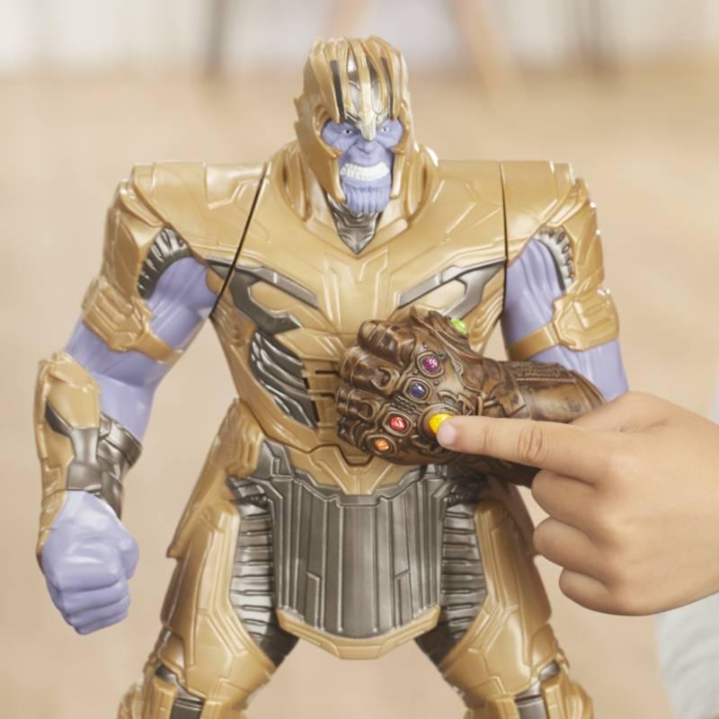 Avengers - Figura de acción Avengers Thanos puño poderoso