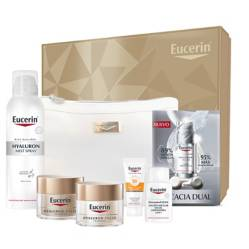 Set Hyaluron Elasticity Filler D?a y Noche 50 ml + Mist 150 ml + Serum + Cosmetiquero