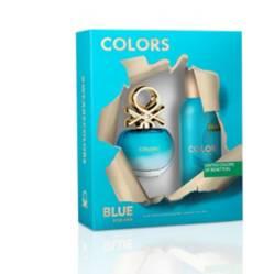 Set Colors Blue Edt 50ml + Deo 150ml