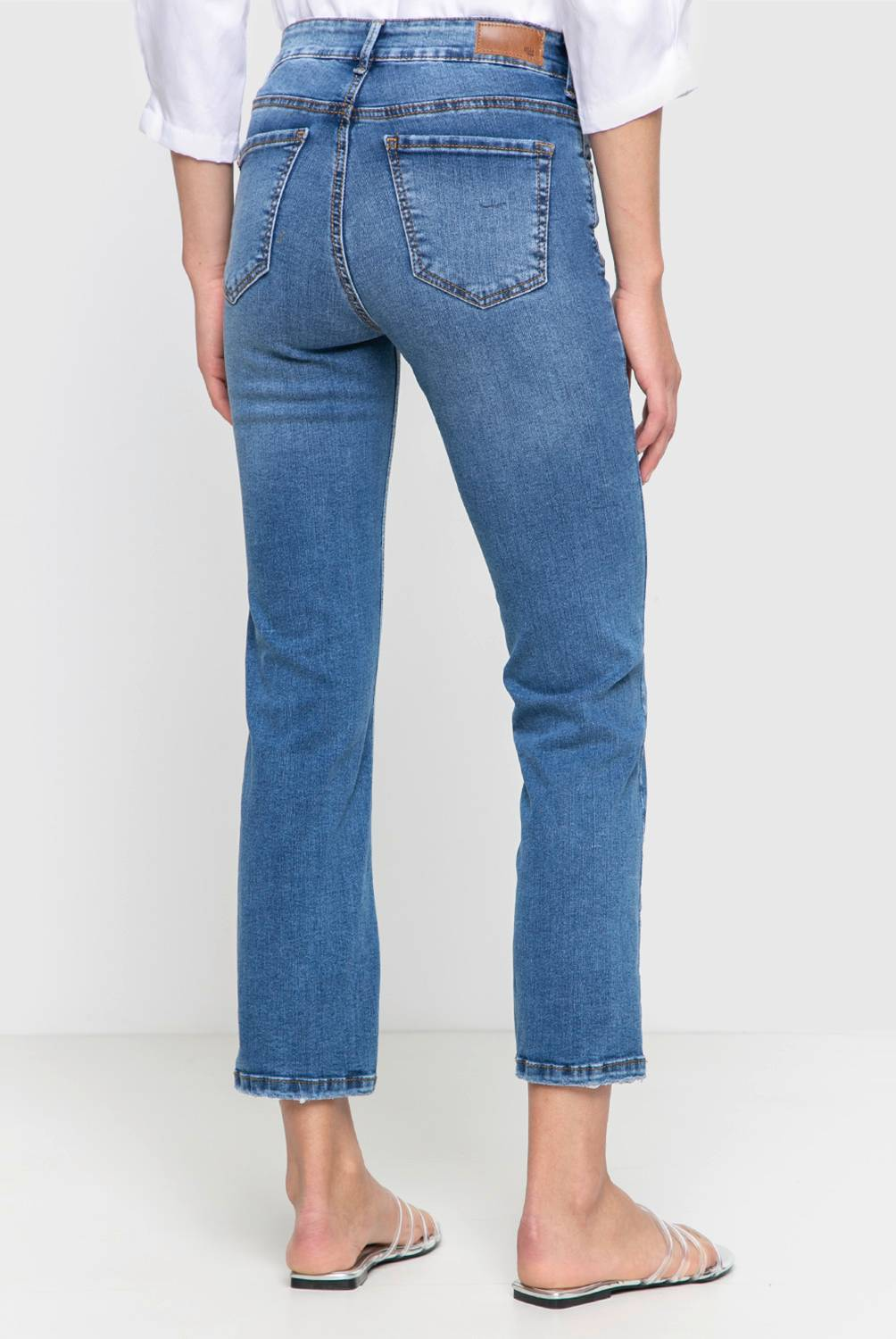 Basement - Jeans Straight Mujer