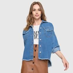 Sobrecamisa Jeans