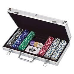 Hb Import - Juego De Mesa Set De 300 Fichas De Poker