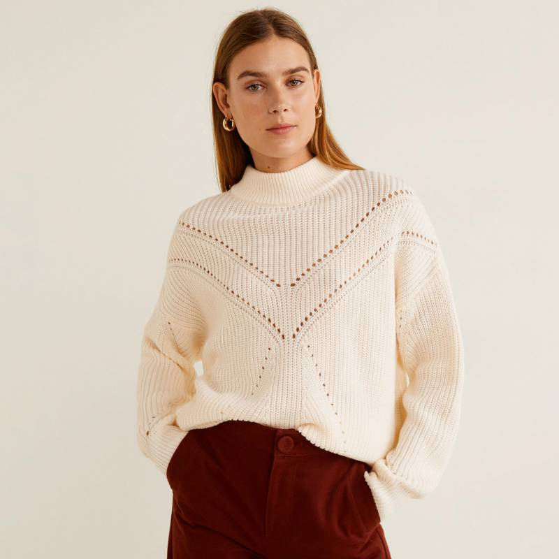 Mango - Sweater Coeur