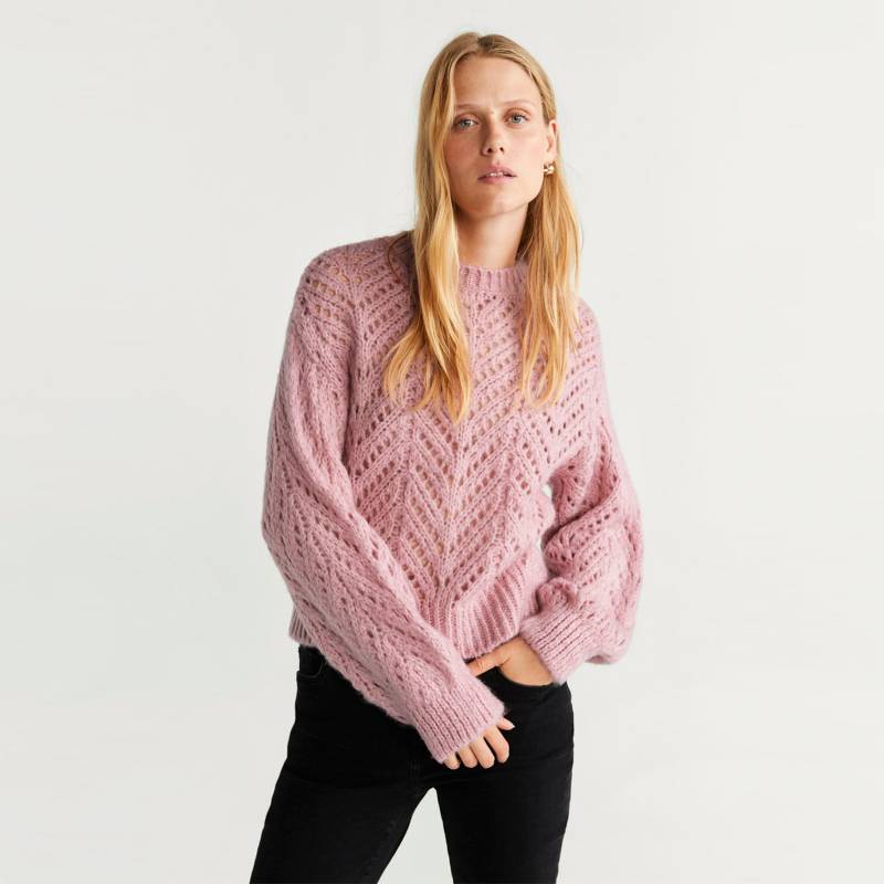 Mango - Sweater Manga Larga Mujer