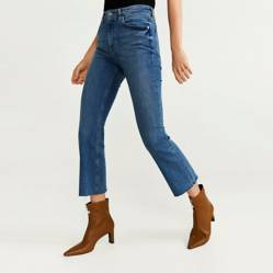Mango - Jeans de Algodón Mujer