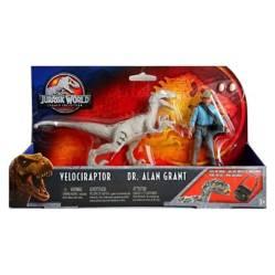 Velociraptor y Dr Alan GrantJurassic World