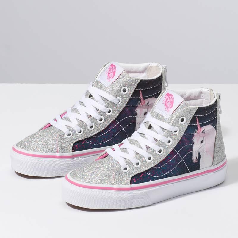 vans zapatillas niña