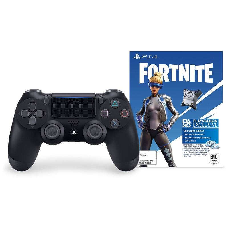 Sony - Control PS4 Dualshock Bundle Fortnite