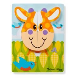 Melissa  Doug - First Play Jigsaw Puzzle Set Farm
