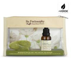 BE FEELOSOPHY - Set Superfood Balance Oíl 30 ml + Jade Gua Sha