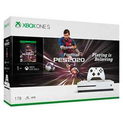 Consola Xbox One S 1TB + PES 2020