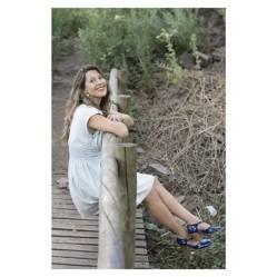 DELFINA - Sandalia de Cuero Mujer
