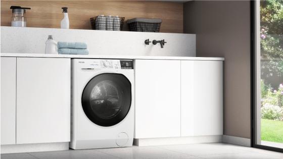 Diseño y elegancia con la lavadora secadora Perfect Care 8WD