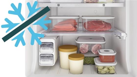 Sistema Frost Free con el refrigerador Fensa DW44S