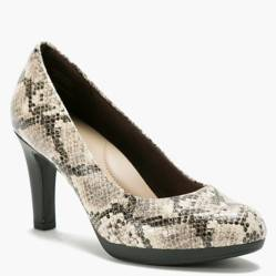 Clarks - Zapato Formal Mujer Gris