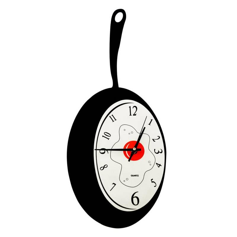 SOHOGAR - Reloj mural para cocina modelo sarten