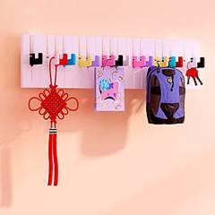 SOHOGAR - Colgador de Muro Diseño Piano Multicolor