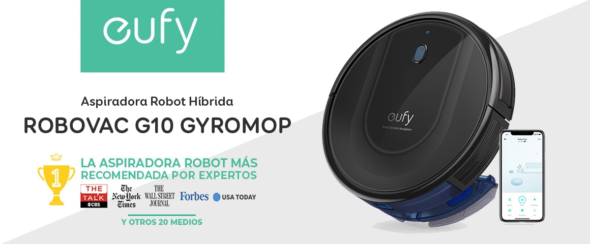 Aspiradora Robot Inteligente RoboVac G10 Gyromop