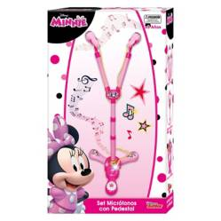 Disney - Set Microfonos con Pedestal Minnie