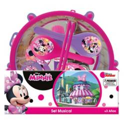 Disney - Set Musical en Tambor Minnie Disney