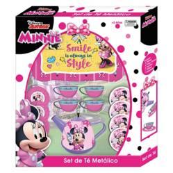 Set de Te Metalico Minni Disney