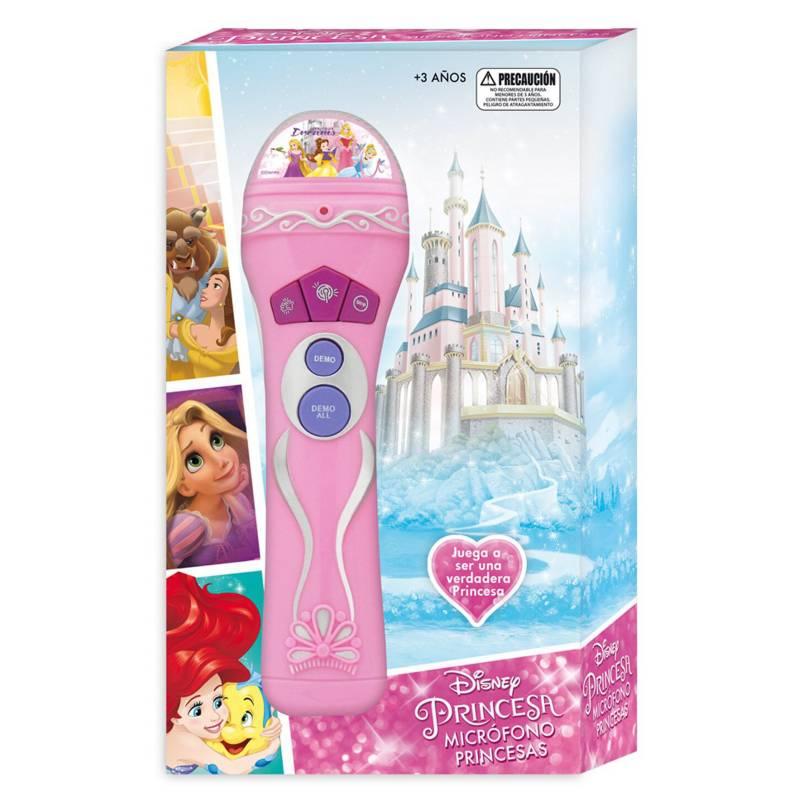 Disney - Microfono Musical Princesas Disney