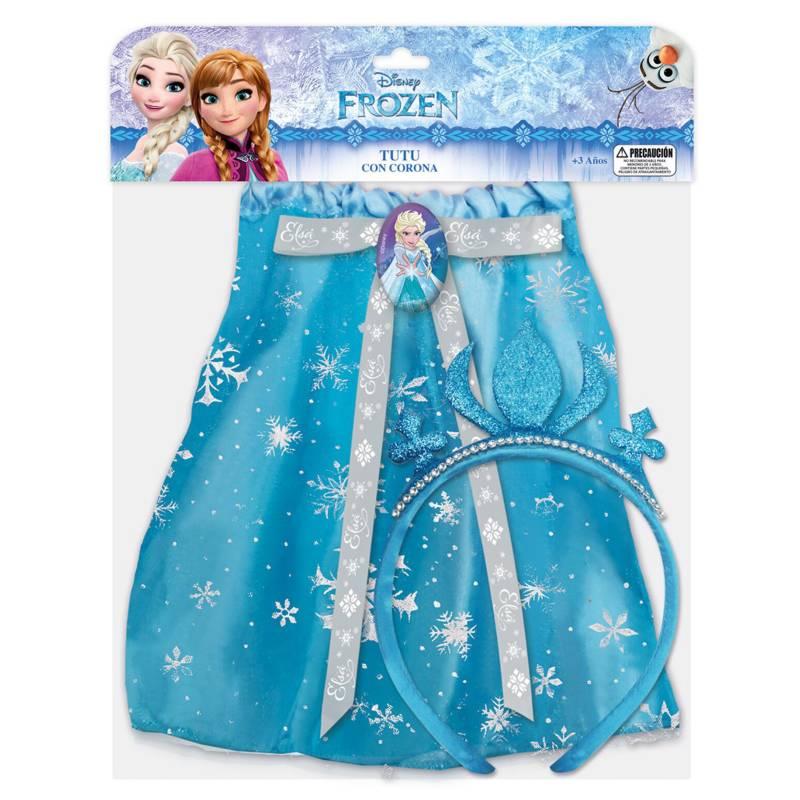 Disney - Faldita con Accesorio Frozen