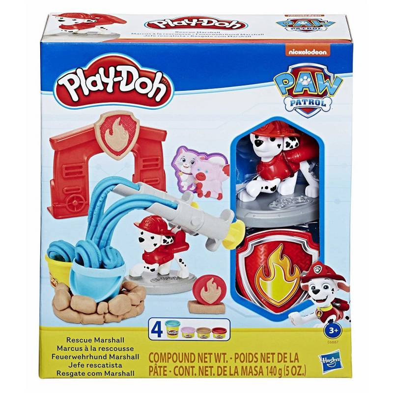 Paw Patrol - Play Doh Paw Patrol Marshall En Español