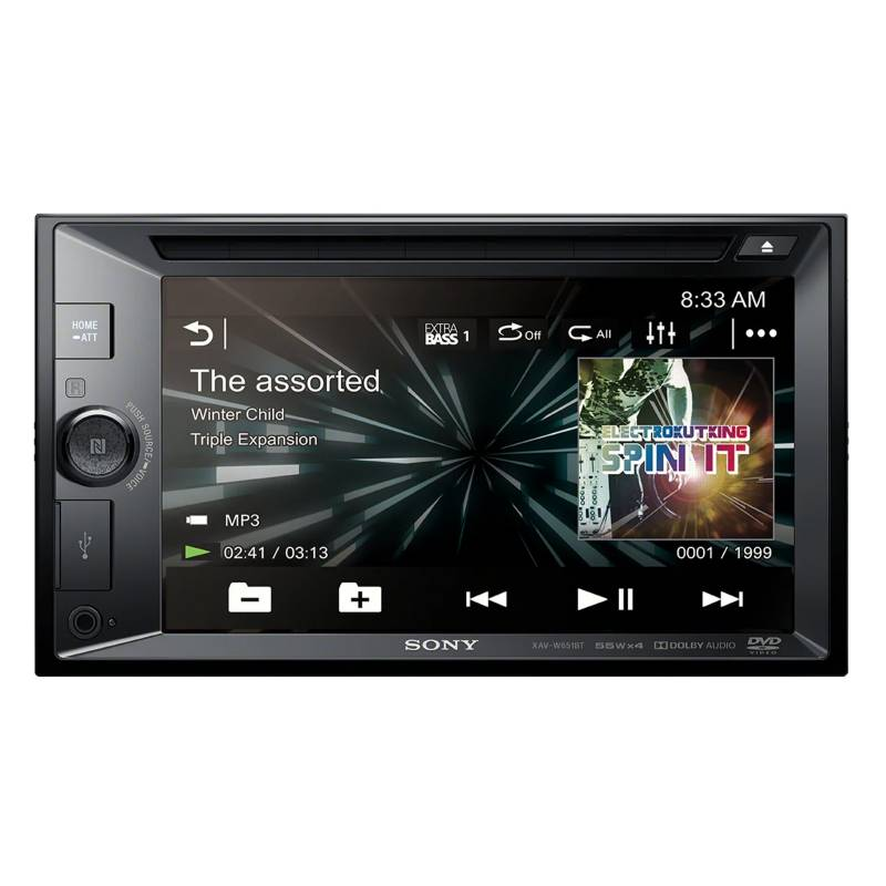 Sony - Radio de Auto XAV-W651BT