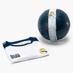 REAL MADRID - Set de Futbol niños Polera + Pelota