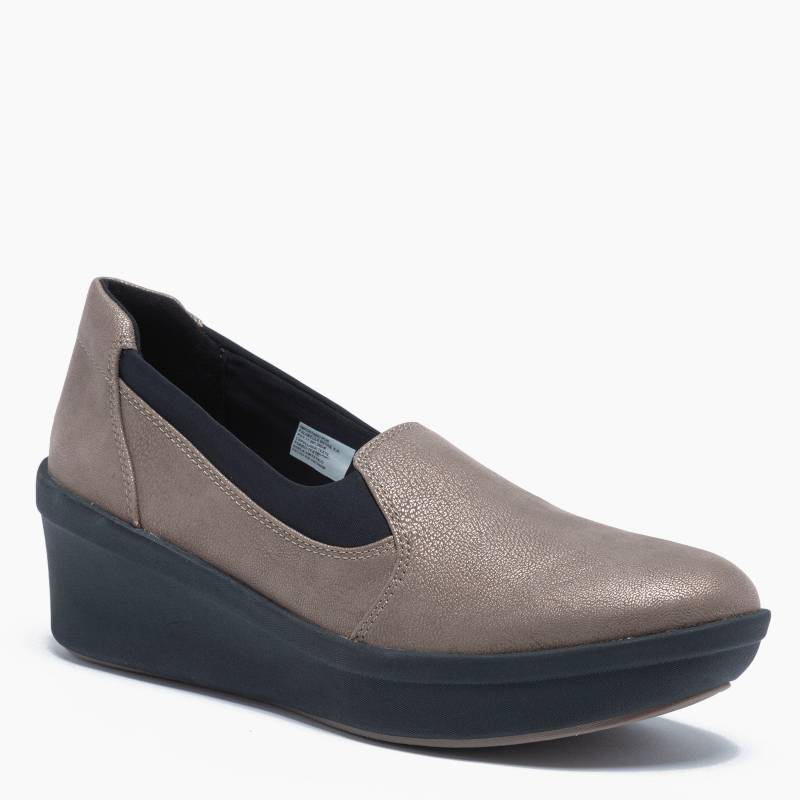 Clarks - Zapato Casual Mujer Gris