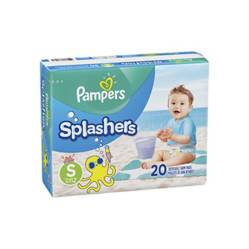 Pampers - Pañales Pampers Splashers Talla S