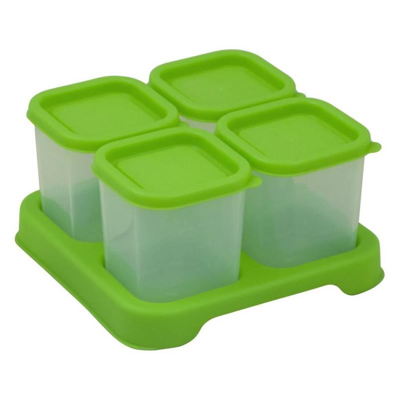 GREEN SPROUTS - Envases de Plástico 120ml Verde