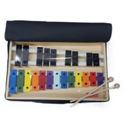 Metálfono Cromático 22 Notas 100% Nacional Color
