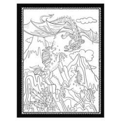 Sociedad Magica Unicornios Colorear