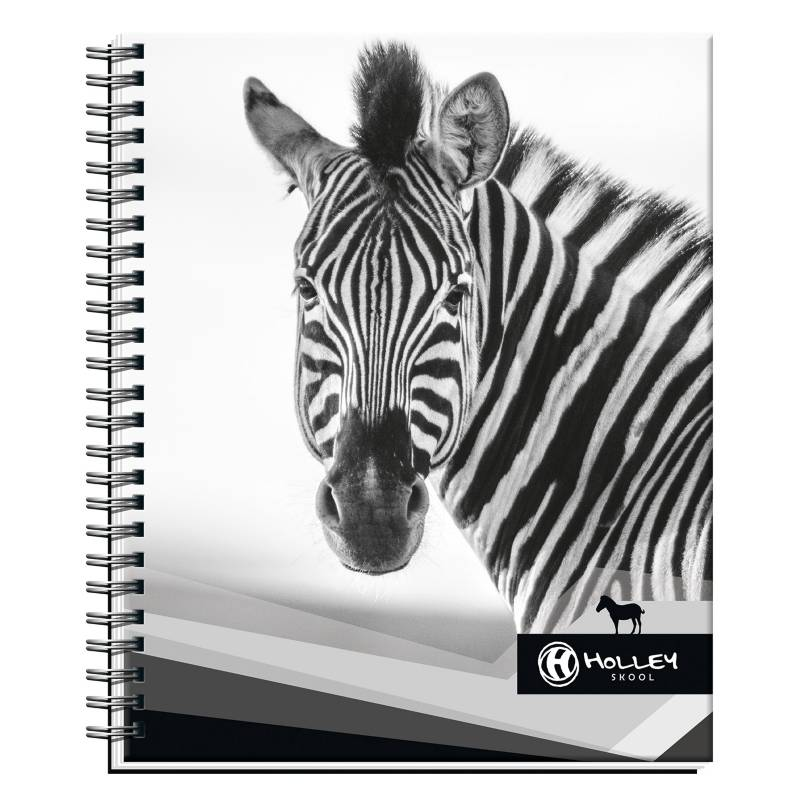 Holley Skool - Cuaderno Universitario Cebra