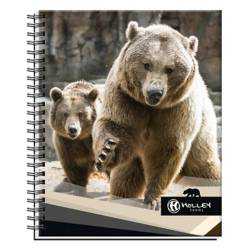 Holley Skool - Cuaderno Universitario Oso